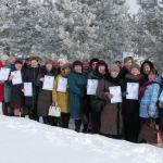 Зимняя вишня для сельских библиотекарей